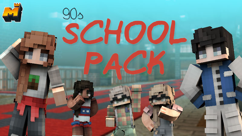 90s School Pack by Mineplex - MCStore