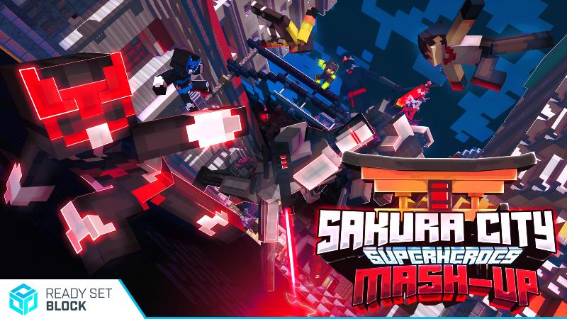 Sakura City Superheroes by Ready, Set, Block! - MCStore