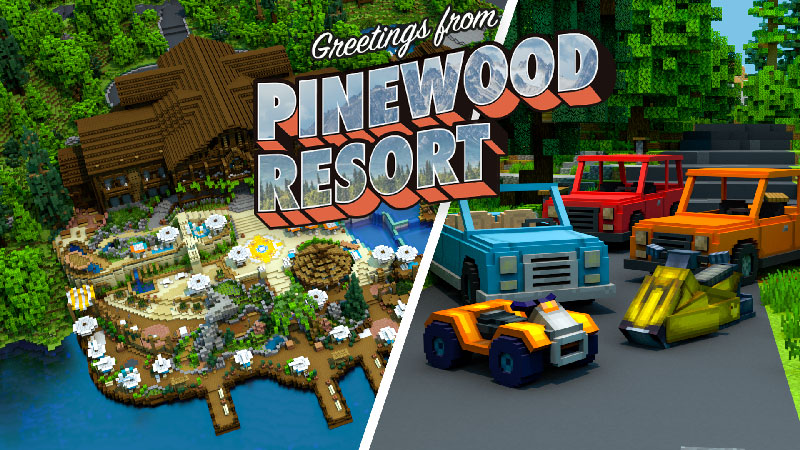 Pinewood Resort By Blockception Mcstore