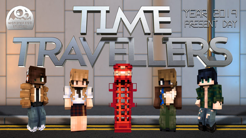 Time Travellers: Year 2019 by Monster Egg Studios - MCStore